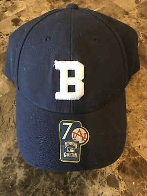 71b38de039a American Needle MLB 1911 Brooklyn Dodgers Fitted Cap Hat Navy Blue Size 7  New!