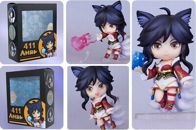 New League of Legends LOL Ahri 411 Nendoroid Figure Collectible Toy 10cm in box