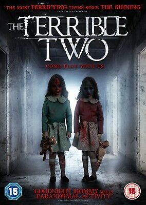 THE TERRIBLE TWO (DVD) (NEW) (RELEASED 8th OCTOBER) (HORROR) (FREE POST)
