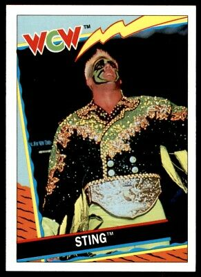 Sting No 57 Topps WCW Trading Cards 1992 Wrestling