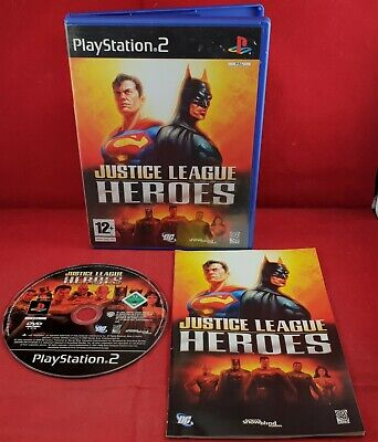 Justice League Heroes (Sony PlayStation 2) VGC