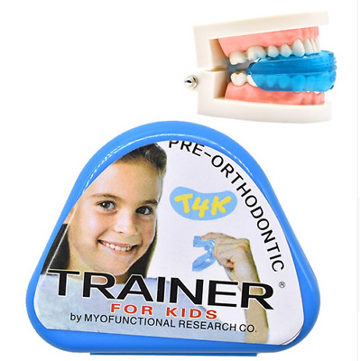 2pc-T4K Children Dental Tooth Orthodontic Appliance Trainer Kids for Tooth Care