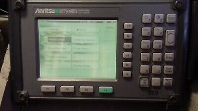 Anritsu  MW9080 D SM Fiber Long Haul OTDR 1310/1550 VLD Source and Meter