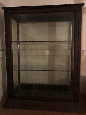 Vintage Counter Top Glass Display Cabinet