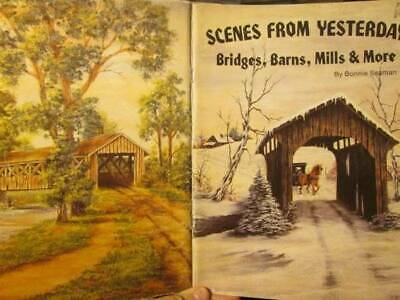 Scenes From Yesterday Painting Book-Bonnie Seaman-Bridges/Barns/Mills