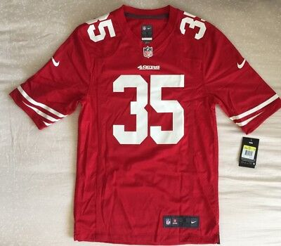 Nike On Field San Francisco 49Ers Eric Reid  35 Nfl Jersey - Men s Size  Small 44f2437a0