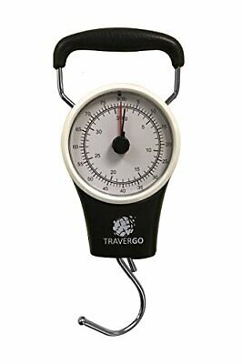 GoGreen Analog Luggage Scale with Hook (Black) TR1300BK