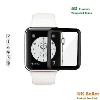 For Apple Watch Series 4/3/2/1 Tempered Glass 5D  Full Screen Protector 40/44mm