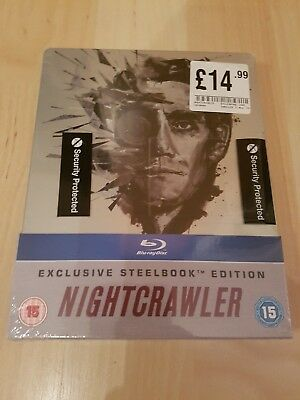 Nightcrawler | Jake Gyllenhaal | Blu Ray | Steelbook | HMV Exclusive | RARE VGC
