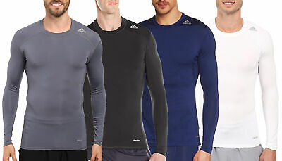 586dbcc8ec ADIDAS MEN'S TECHFIT Base Layer Long Sleeve Tee, Color Options ...