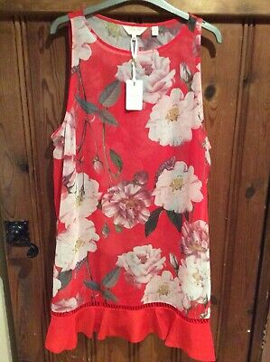 6fa4fec96e BNWT TED BAKER Eden Edela Maxi Beach Cover Up Dress size M -  81.01 ...