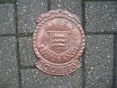 A Reproduction Essex  Insurance Fire Mark in Copper. Wright 35A. Good Condition.