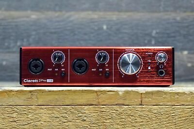 Focusrite Clarett 2 Pre USB 10-in / 4-Out USB Audio Interface for PC and MAC