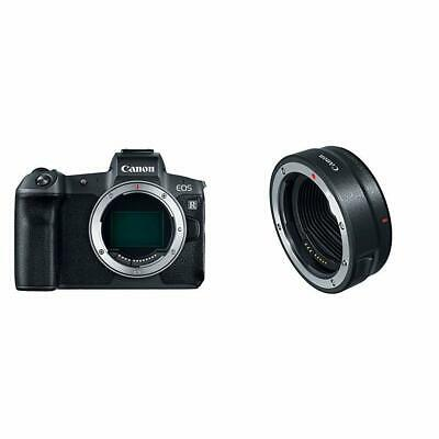 Canon EOS R Mirrorless Digital Camera w/Mount Adapter EF-EOS R