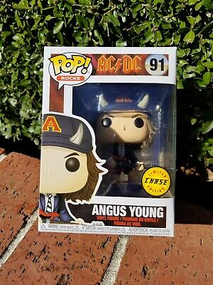 Funko POP Rocks AC/DC Angus Young #91 Chase Limited Edition   (0279)