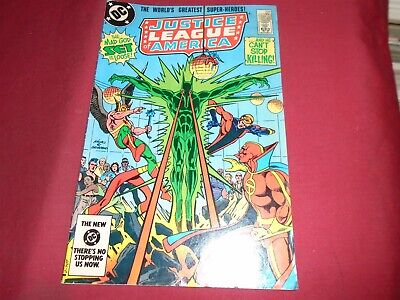 JUSTICE LEAGUE OF AMERICA #226 DC Comics 1984 VG