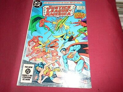 JUSTICE LEAGUE OF AMERICA #232 DC Comics 1984 VG