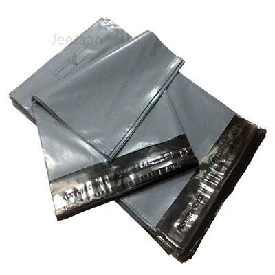 "1000 MAILING BAGS GREY PARCEL PACKAGING 11"" x 15"" POSTAL SHIPPING PACKING MAILER"