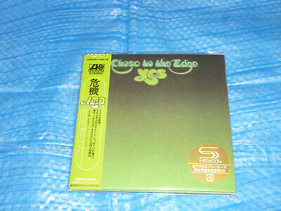 YES Close To The Edge Mini LP SHM CD JAPAN WPCR-13516 / Steve Howe Rick Wakeman