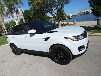 2016 Land Rover Range Rover Sport HSE Td6 AWD 4dr SUV 2016 Land Rover Range Rover Sport HSE Td6 AWD 4dr SUV Automatic 8-Speed AWD V6