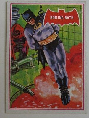 1966 Topps Batman Red #12A BOILING BATH VG