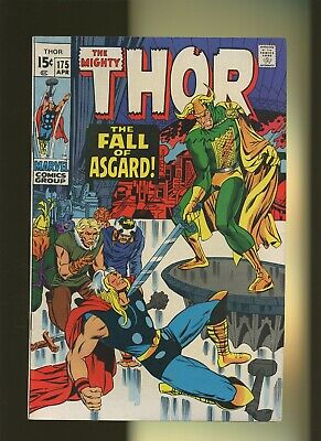 Thor 175 FN 6.0 * 1 Book Lot * Fall of Asgard by Stan Lee & Jack Kirby!