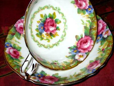 PARAGON Tapestry Rose Fine Bone China Tea Cup & Saucer Double Warrant