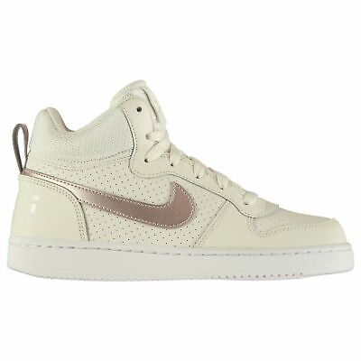 huge selection of 3d158 a581e Nike Cour Borough Fille Junior Mi-Montantes Tennis Grises / Bronze  Chaussures