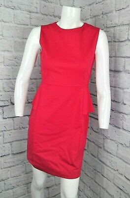 037f2d6372e Elie Tahari Women Pink Sleeveless Peplum Sheath Bodycon A-Line Career Dress  Sz 4