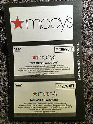 Lot of Macy's Coupons