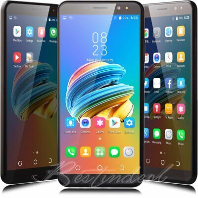 """6.0"""" Unlocked Android 7.0 Smartphone AT&T T-Mobile DuaL SIM Quad Core Cell phone"""
