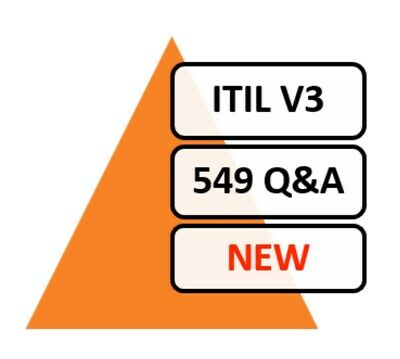 ITIL (ITIL V3 Foundation), 519 Q&A, PDF FILE! Updated 2019 Real Exam Questions!