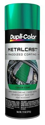 Duplicolor MC203 Green Paint Metal Cast Anodized Coating 11 Oz. High Temp