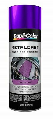 Duplicolor MC204 Purple Paint Metal Cast Anodized Coating 11 Oz. High Temp