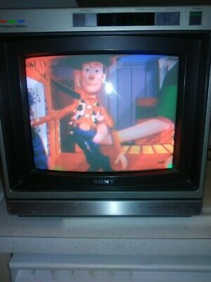 Vintage Sony Trinitron Color TV - KV-1223R 13 inch Tested Working ,Great Picture