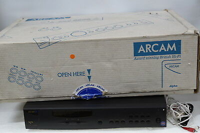 Arcam Alpha 7 AM/FM Tuner Component - Serviced - Made in England (Alpha7)