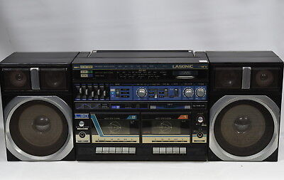 Lasonic L-30 Portable Stereo Radio Cassette Deck Player Gheto-Blaster Boom-Box