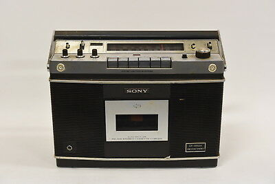 Sony CF-550A Vintage Radio - No Power Cord - AS IS Read Description
