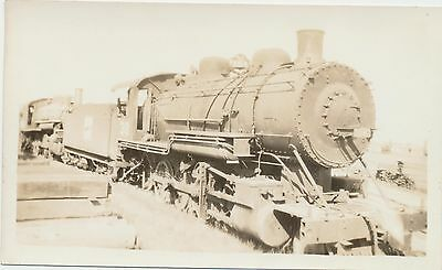 RARE Vtg 1935 Real Photo 2-8-0 Train 38 W.P. Western Pacific Railroad Oakland CA