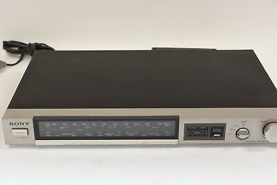 Sony ST-JX22S FM Stereo/AM-FM Tuner Component