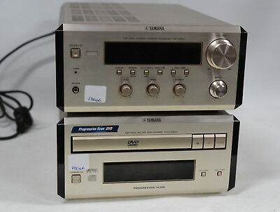 Yamaha RX-E600 Stereo Amplifier with Remote & DVD-E600 DVD/CD Player