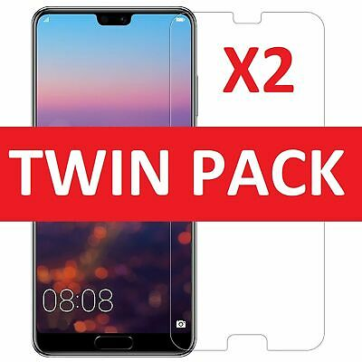 For Huawei P20  Pro Lite Premium Protection Tempered Glass Screen Protector (2x)