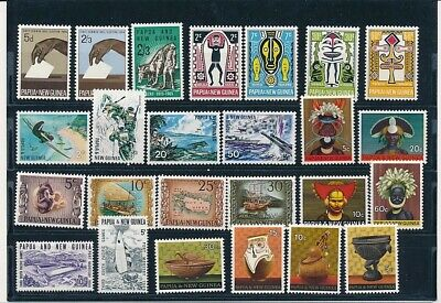 D248427 Papua New Guinea Nice selection of MNH stamps