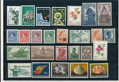 D248430 Papua New Guinea Nice selection of MNH stamps