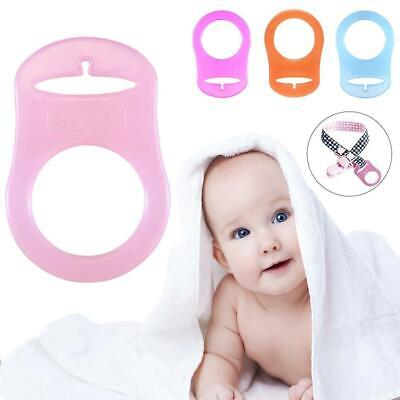 Silicone Adapter Rings Baby Pacifier Ribbon Clips For MAM Style Nipple