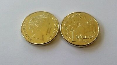 2017 $1 Coin - Australian 2017 $1 MOR UNCIRCULATED - Kangaroo Design LOW MINTAGE