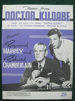 """""""theme From Doctor Kildare""""      Sheet Music."""