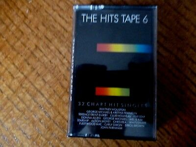 MUSIC CASSETTE - THE HITS TAPE 6 [1987] - Tape 1
