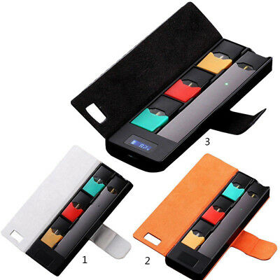 Portable Fast Charger Travel Charger Battery Cover Case For JUUL00 USB Cable