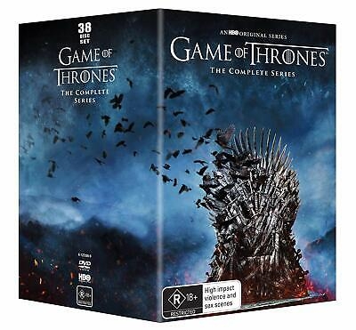 GAME OF THRONES  1-8 2011-2019 COMPLETE Epic TV Seasons Series  NEW Au Rg4 DVD